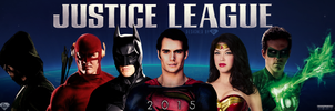 Justice League 2015 Banner by DiamondDesignHD