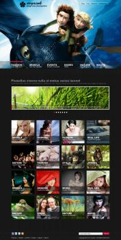 Photography portfolio Template Design by AryaInk