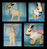 Jolteon Plush by PokemonMasta
