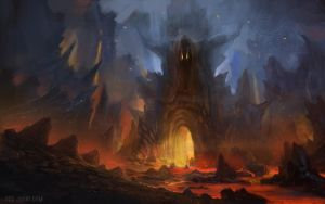 Gates to Hell by YogFingers