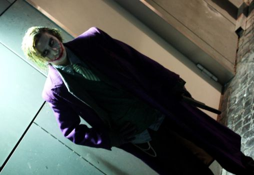 Connichi 09 Joker by CainAndrew