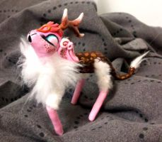 Kirin mini doll WIP by MaryBunnie