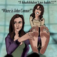 The Sarah Connor Tickles by Bigfootfantasies