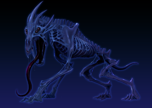 Hound of Tindalos by dloliver