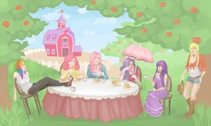 Tea Party is Magic by SoraAkihiru