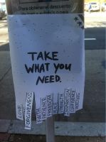 Take what you need by Underclam