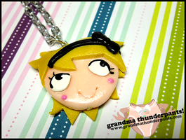 Derpina Necklace by GrandmaThunderpants