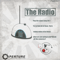 The Radio (portal) by punk407