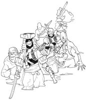 More undead pirates by Pachycrocuta