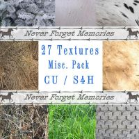 Pack of 27 Textures Free to use by gdolapp
