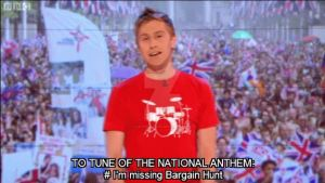Russell Howard sings the national anthem by xxLondonKidxx