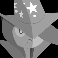 Trixie Monochrome Black Ops Two Emblem by BigBlackBrony