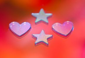 Stars and hearts stock by Quinnphotostock