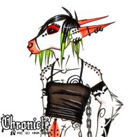 Chronicle in skimpy clothes by shower-zombie