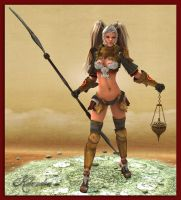 Warrioress by Kilandranet