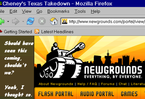 Texas Takedown, Indeed by WolfZword