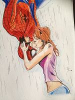 Spidey Kiss by 4lisx