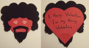 Hairy Valentine by weirdal