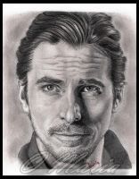 Christian Bale by mariaanghel