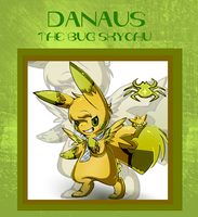 skc: danaus the bug skychu by Pikachim-Michi