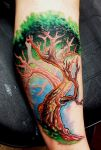 Tree of Life Tattoo by BodyArtbyElf