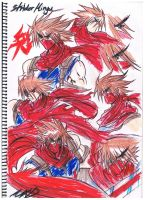 Strider-hiryu redone by MXD in color by Penzoom