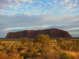Uluru-Sunrise (Ayers Rock, Central Australia) by cdkalos