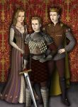 Henry VI and family by kaybay2323