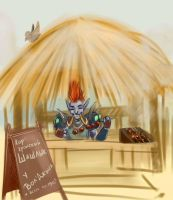 Kor'kron barbecue from Vol'jin by Klodia13