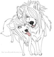 This is The Original Pic of The Scen Wolf Pic by Passion20