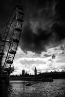 Clouds over London by sican