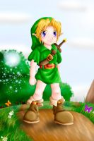 -Young Link- by Lady-of-Link