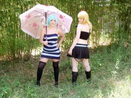 Lucy Fairy Tail - girls by xRika89x