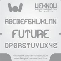 future font by weknow by weknow