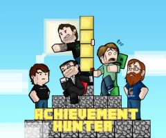 Achievement Hunter Minecraft by fkim90