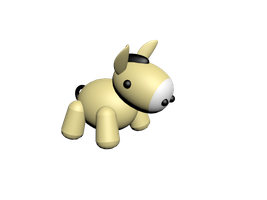 Donkey 3ds max model by Ovilia1024