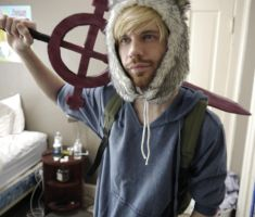 Real Life-Finn the Human cosplay! by N7ShepardCommander