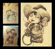 The cowgirl by TINMAN2406