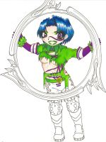 Tira +halfway coloured+ by fanchielover15