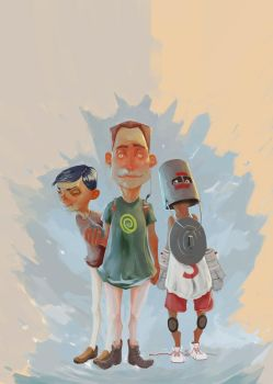 Ra(t)d, Chad and the Ironclad by KeeWard