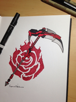 Ruby Rose's Weapon by capecod7