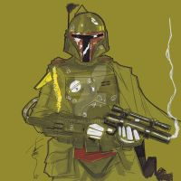 12x12 Boba Fett SLC by Hodges-Art