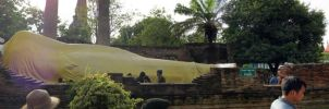 Thailand Panorama - Reclining Buddha by VachalenXEON