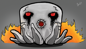 Angry Ghast - Jinx Unsung Heroes Entry by ChrisL21