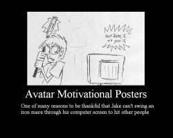 Avatar Motivational Posterz by Wishsong214