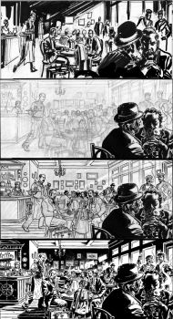 Van Helsing Vs. Jack the Ripper p.45steps by BillReinhold