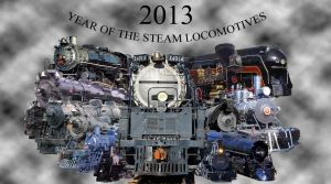 Steam Locomotives of 2013 by 736berkshire