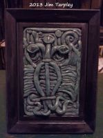 Elder Thing Bas Relief by Mutt12