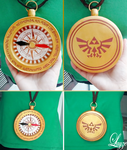 Linkle's Compass by LayzeMichelle