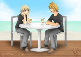 REQUEST Roxas and Namine by FFgirl974